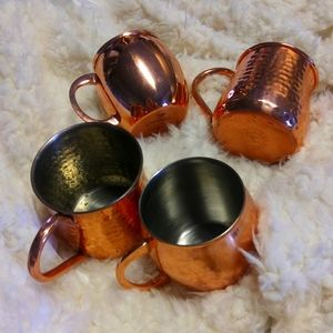 Set of 4 Moscow Mules